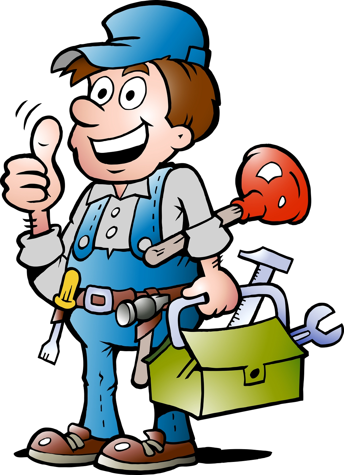 Handyman clipart maintenance guy. Free man cliparts download