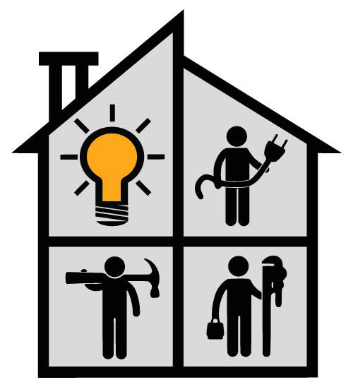 Associated contracting icon web. Contractor clipart office renovation