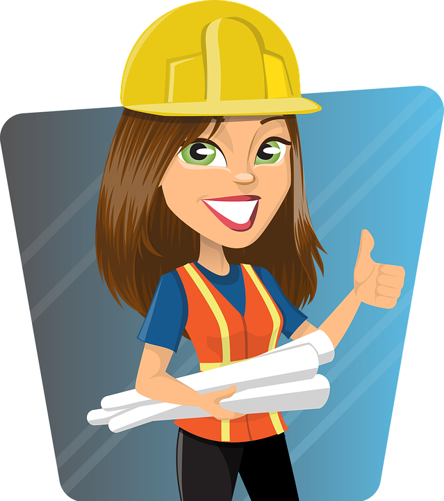 Employee clipart woman employee. Construction gender pay gap