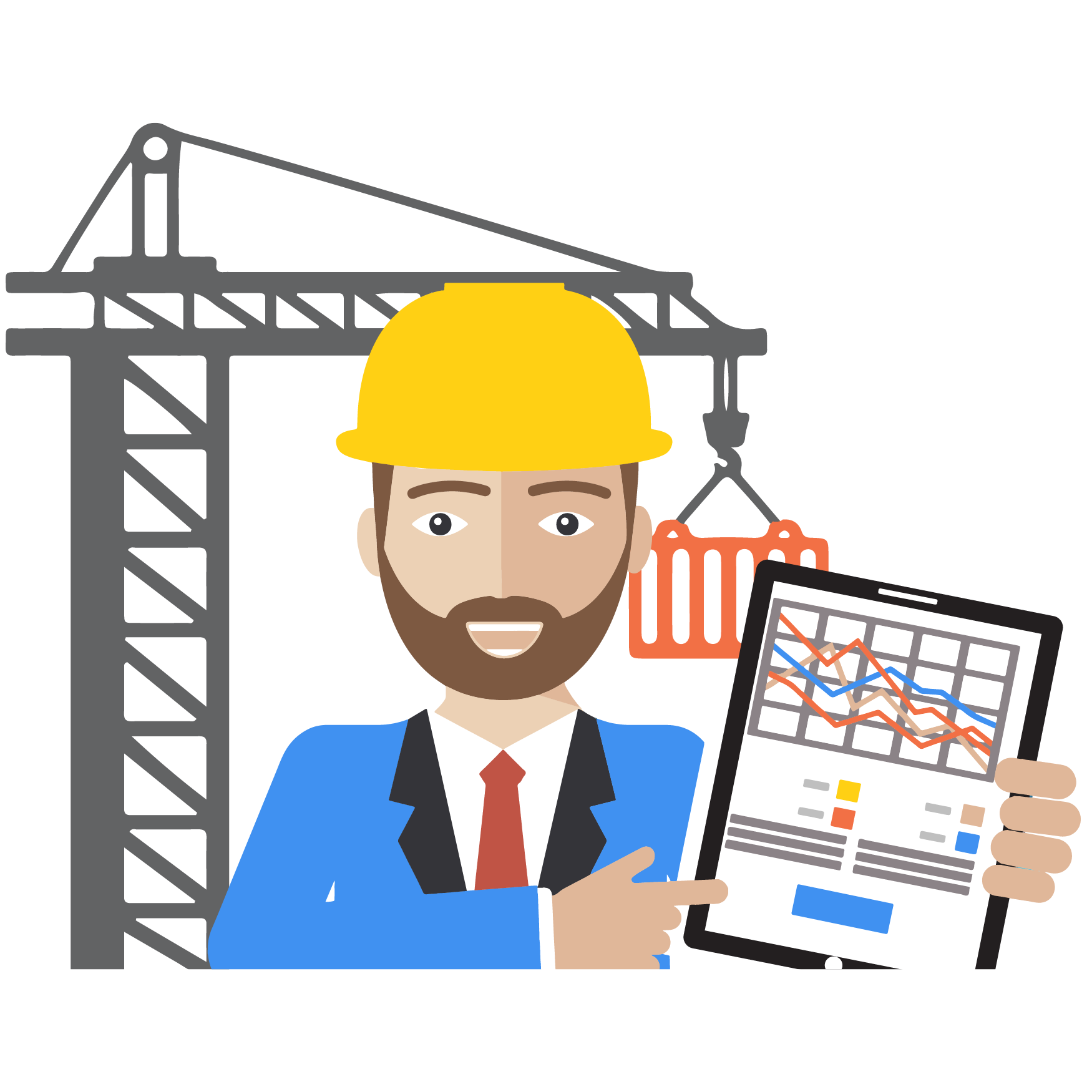 Contractor clipart transparent. Create mobile forms for