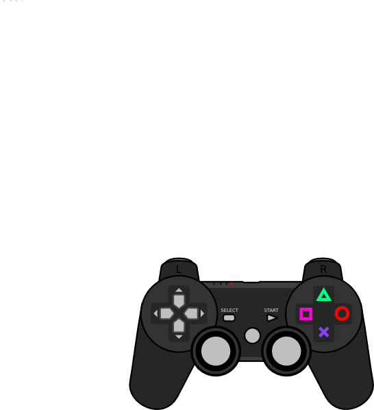 Controller clip art at. Game clipart video
