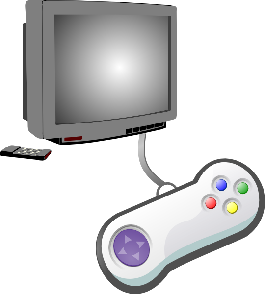 Game clipart video game controller. Play videogames clip art