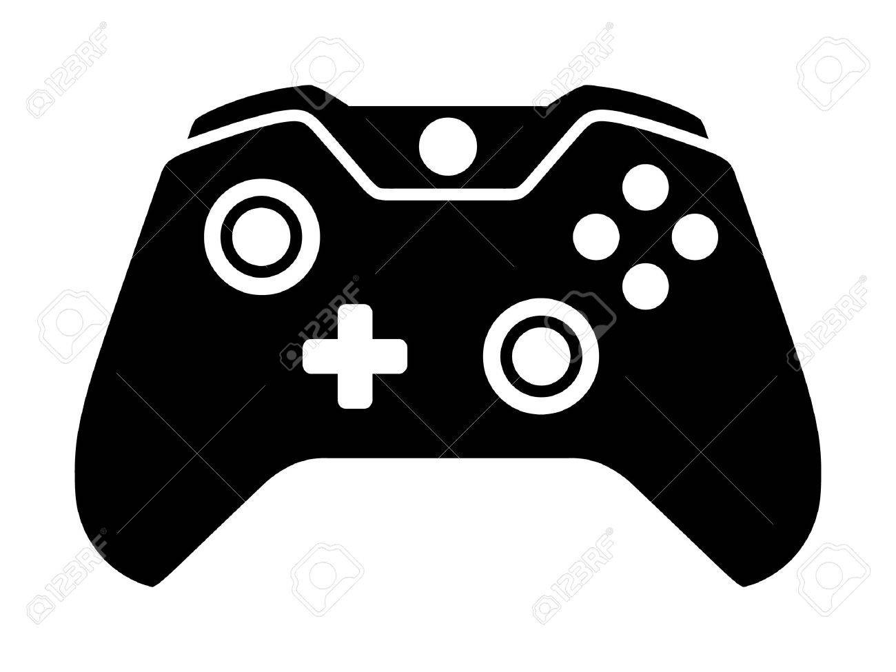 Gaming station . Controller clipart