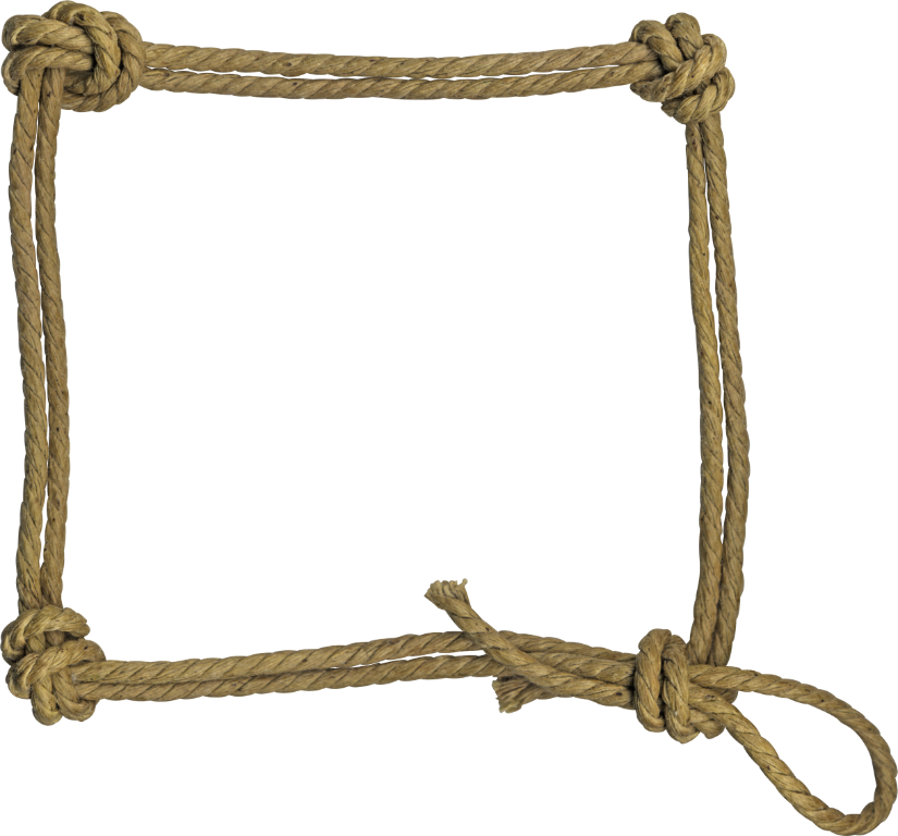Clipart rope free pnglogocoloring. Western frame png