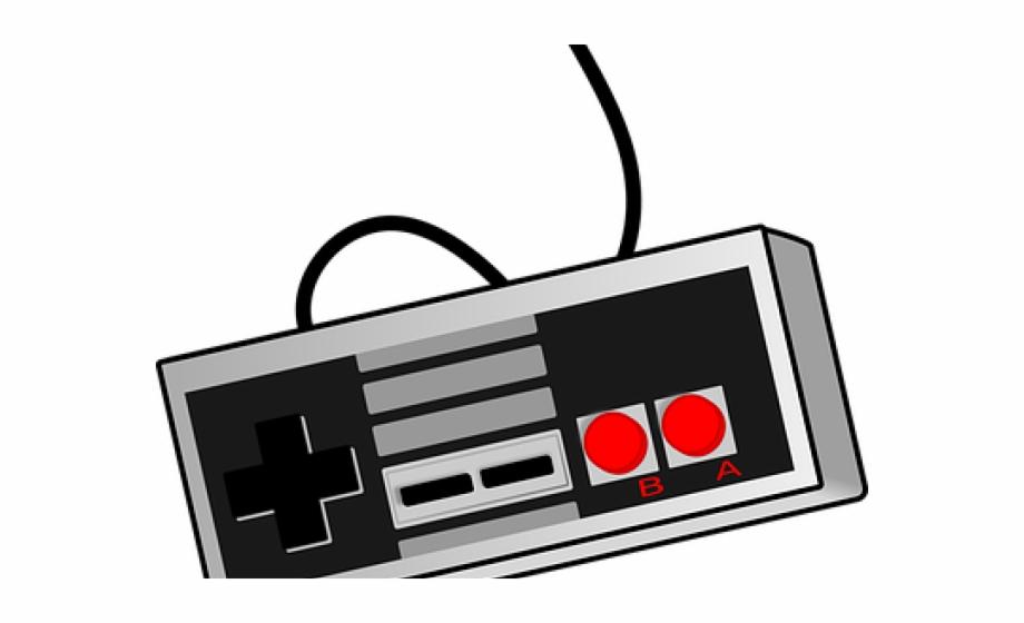 Gaming clipart nes. Joystick super nintendo controller