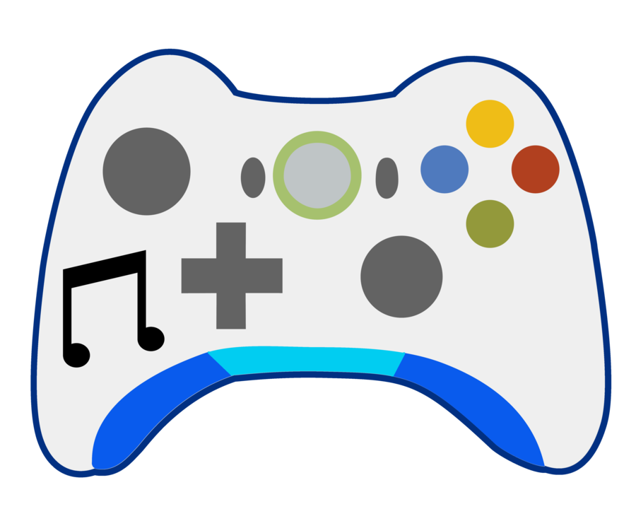 Game clipart electronic game. Vinyl scratch xbox controller