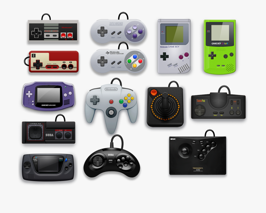 Png video . Controller clipart electronic game