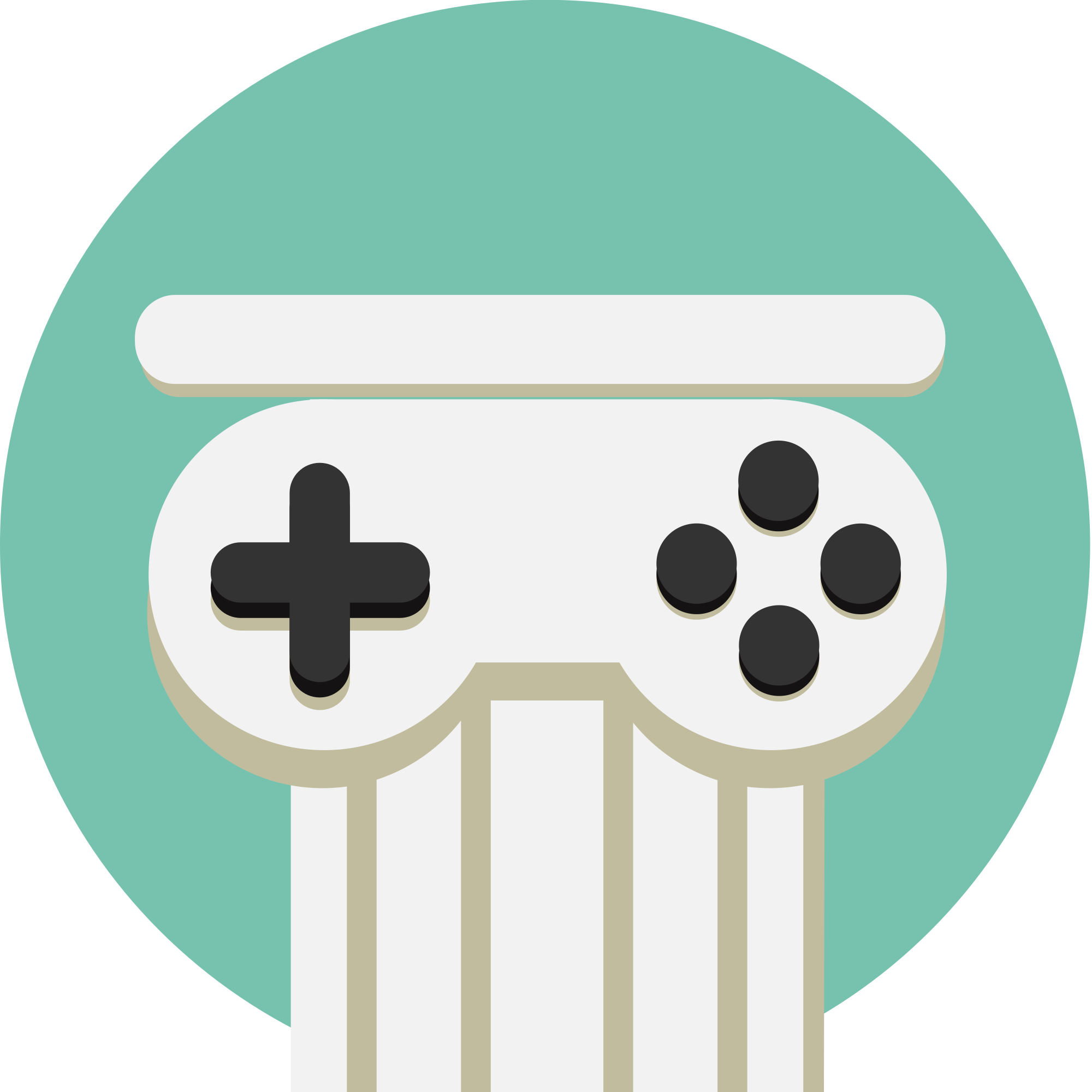 Controller clipart electronic game. File video icon idv