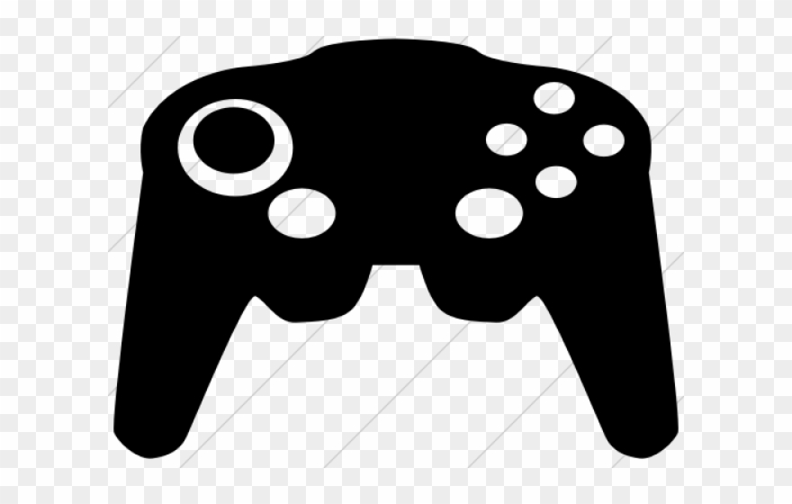 Controller clipart electronic game. Retro red icon png