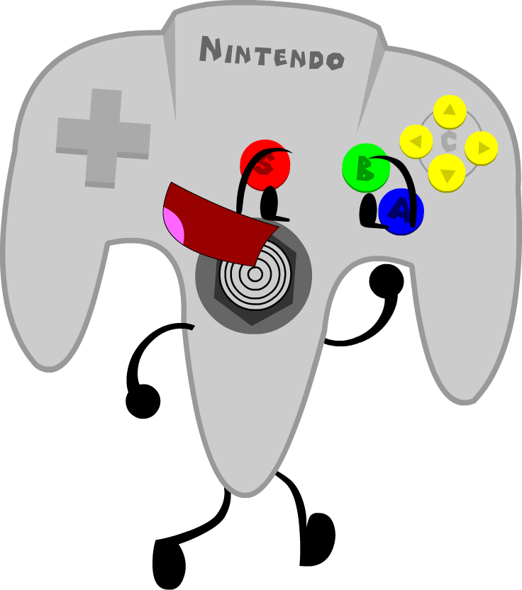 Bfdi free on dumielauxepices. Gaming clipart n64 controller