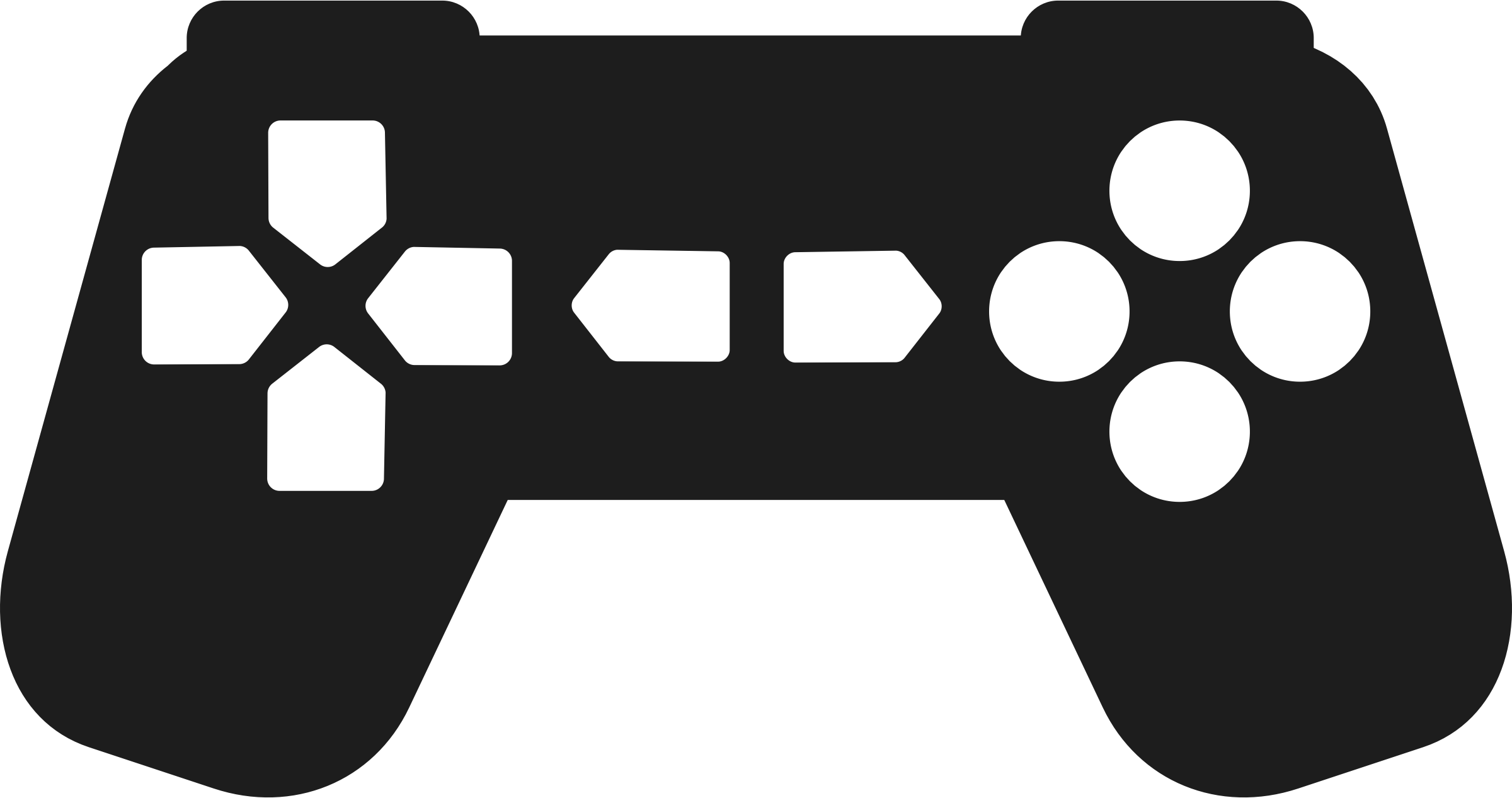 Game controller outline png. Gaming clipart joy stick
