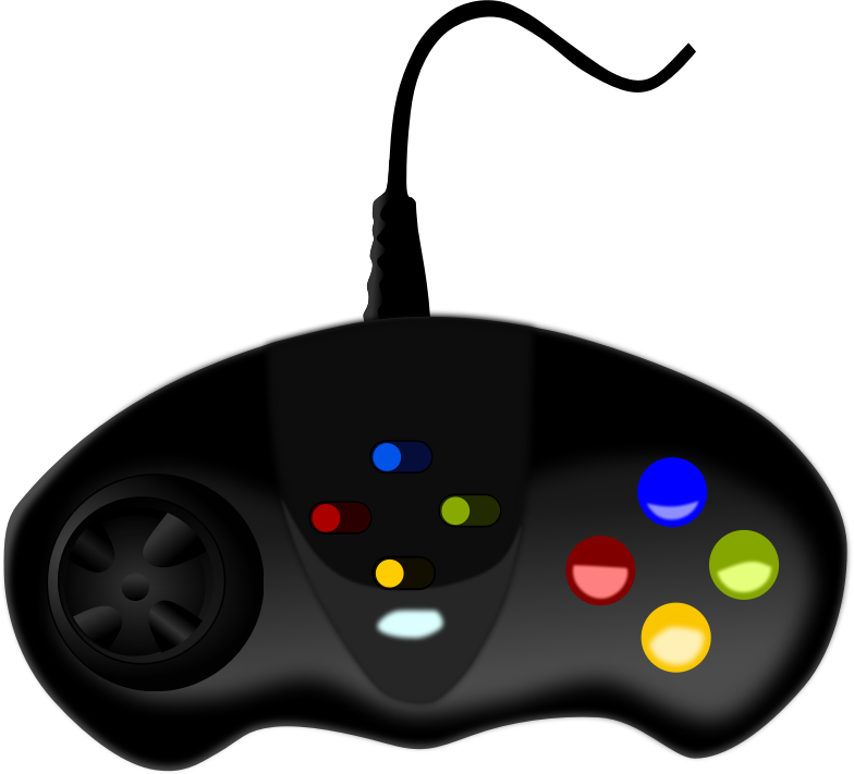 Of video games vector. Game clipart remote