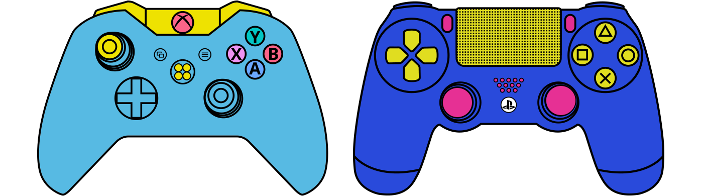 Xbox at getdrawings com. Gaming clipart playstation 4 controller