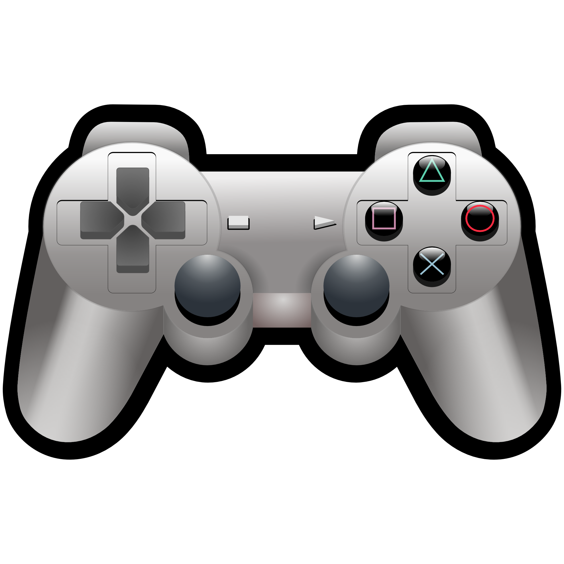 Clipartist net clip art. Gaming clipart ps3 controller