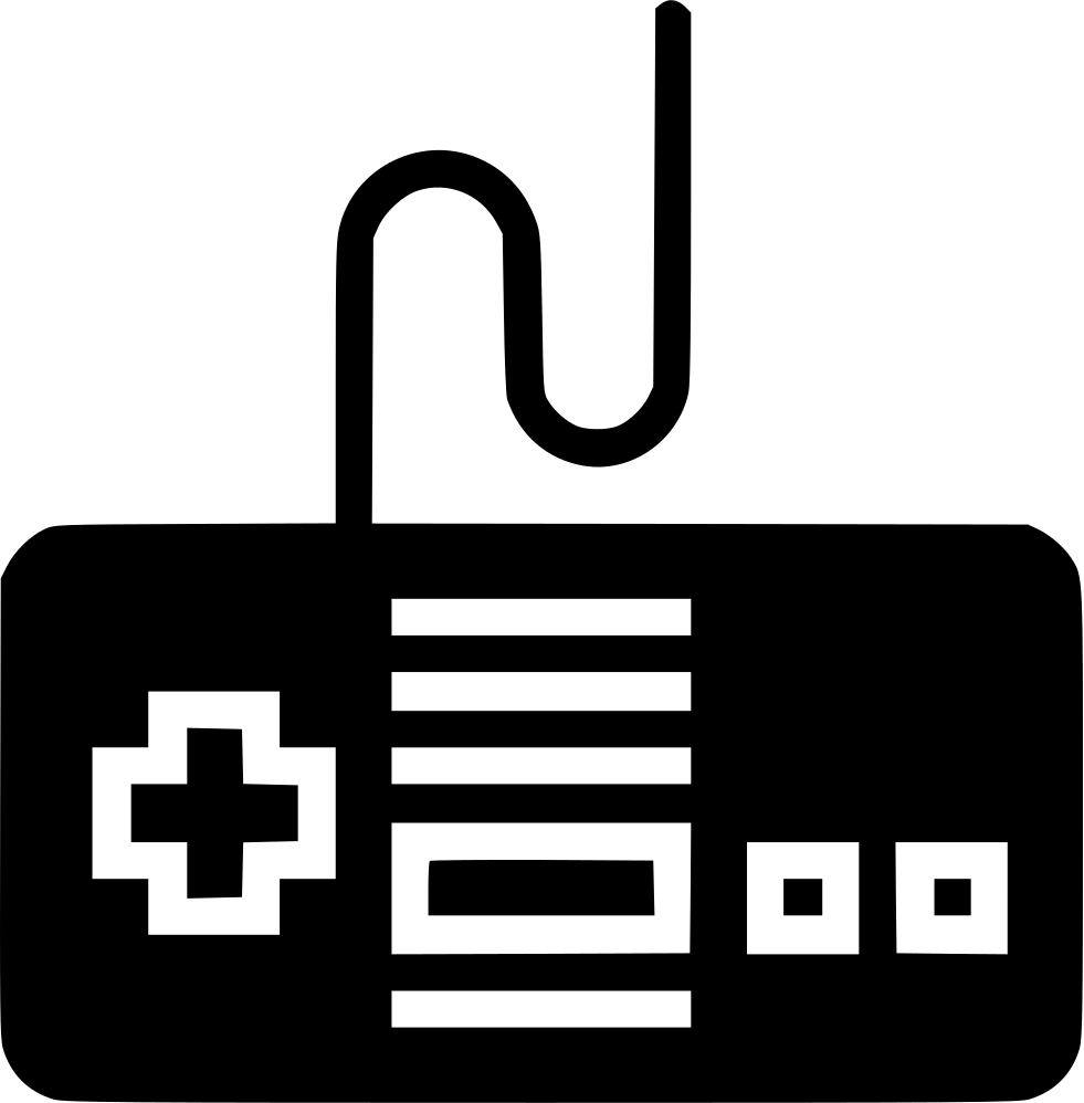 Controller clipart nes controller. Svg png icon free