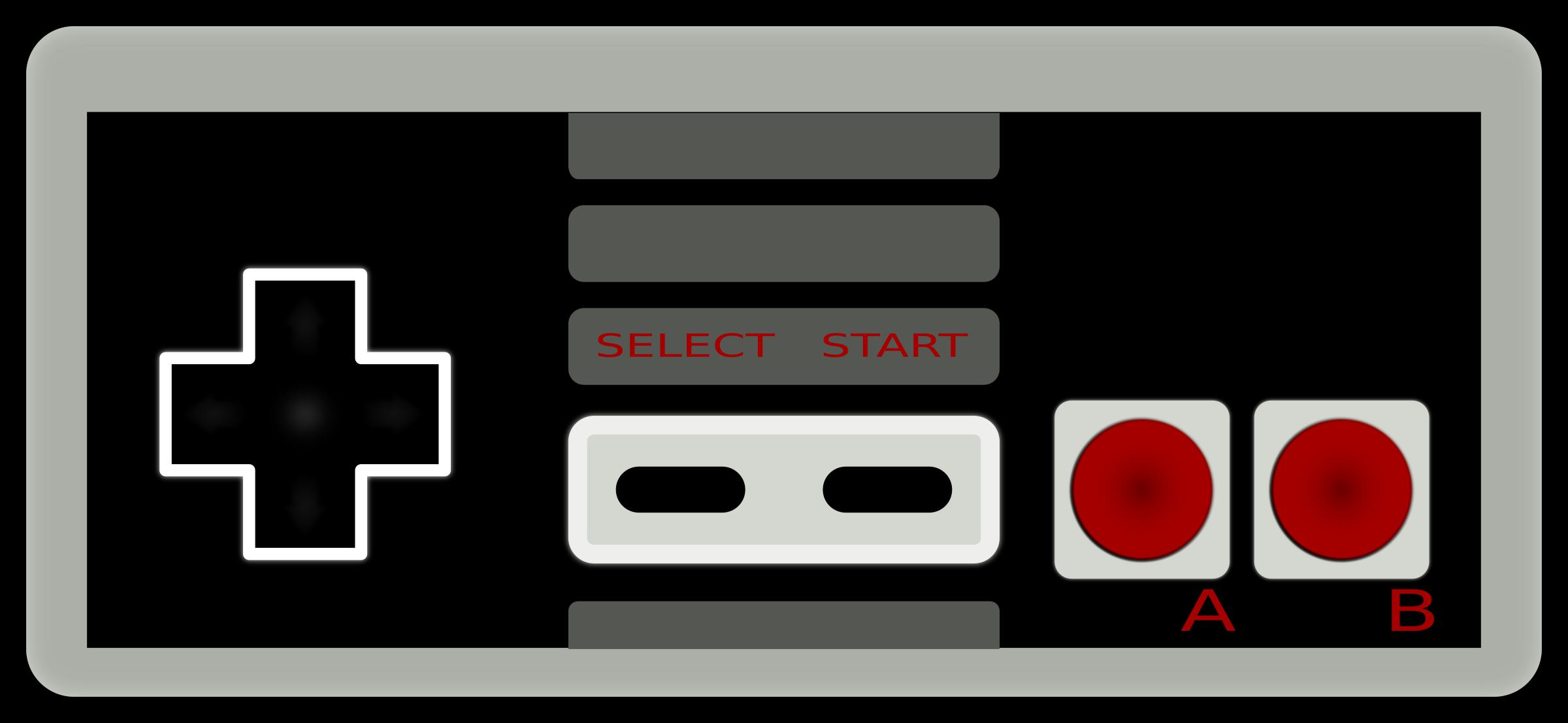 Controller clipart nes controller. Nintendo bit big image