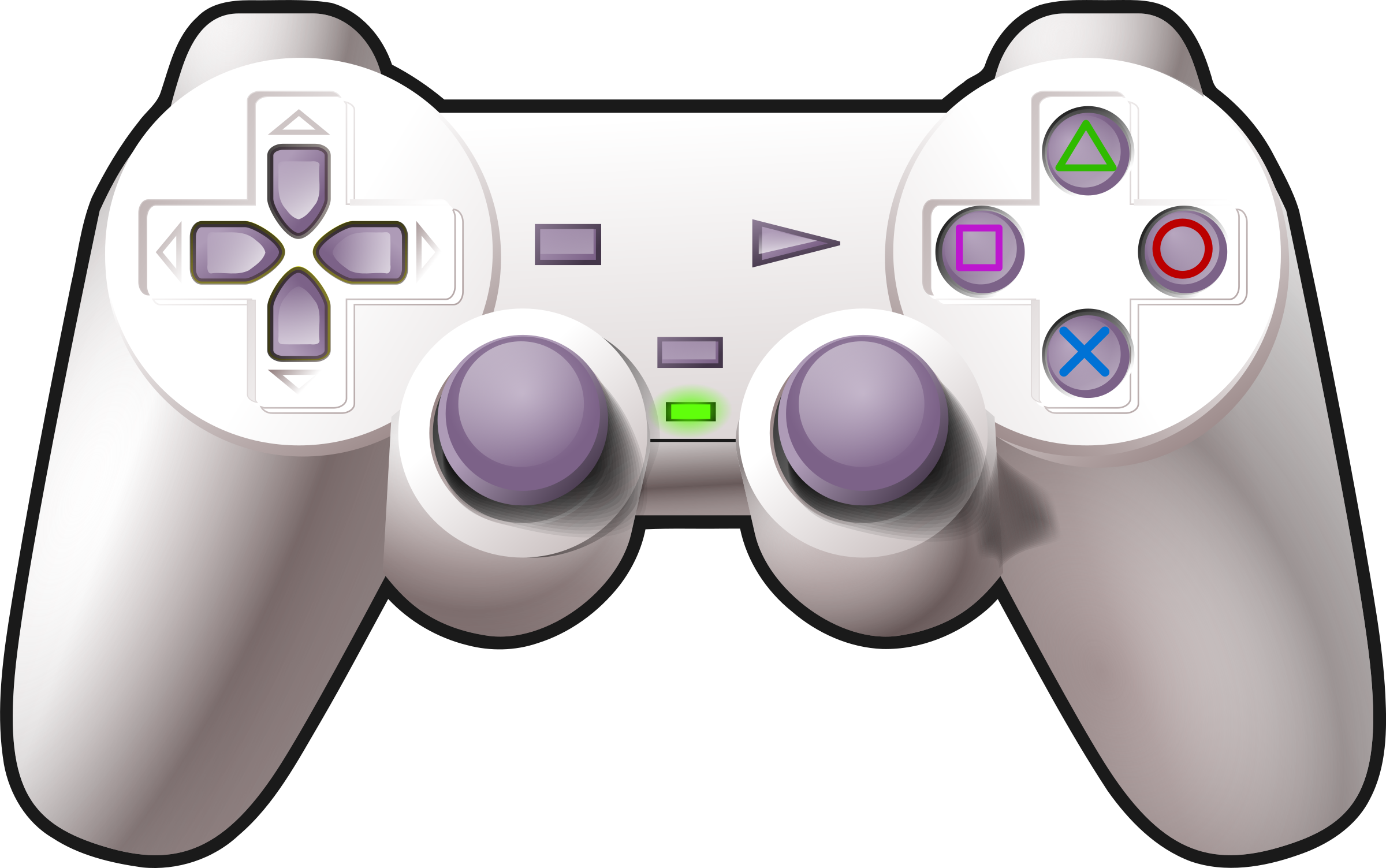 Controller joystick video games. Gaming clipart playstation