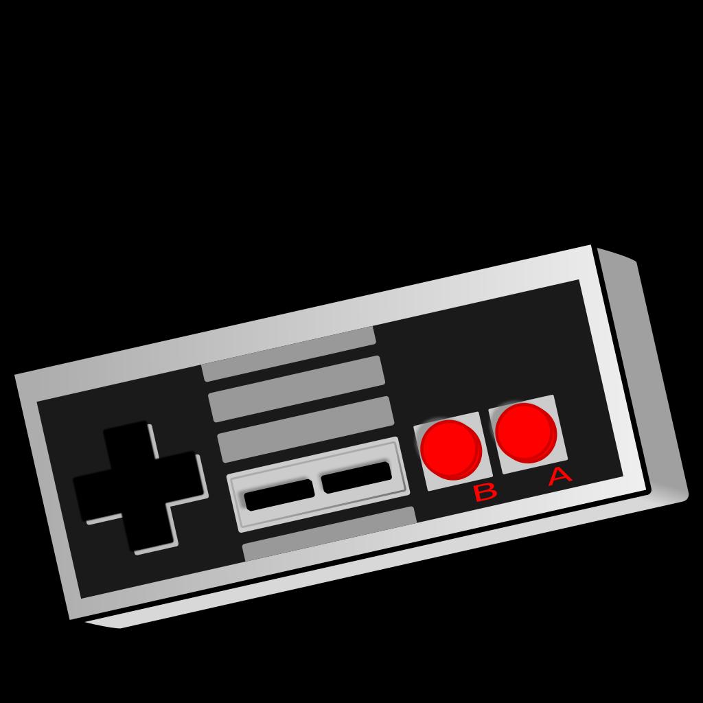 File retro gamepad svg. Controller clipart nes controller