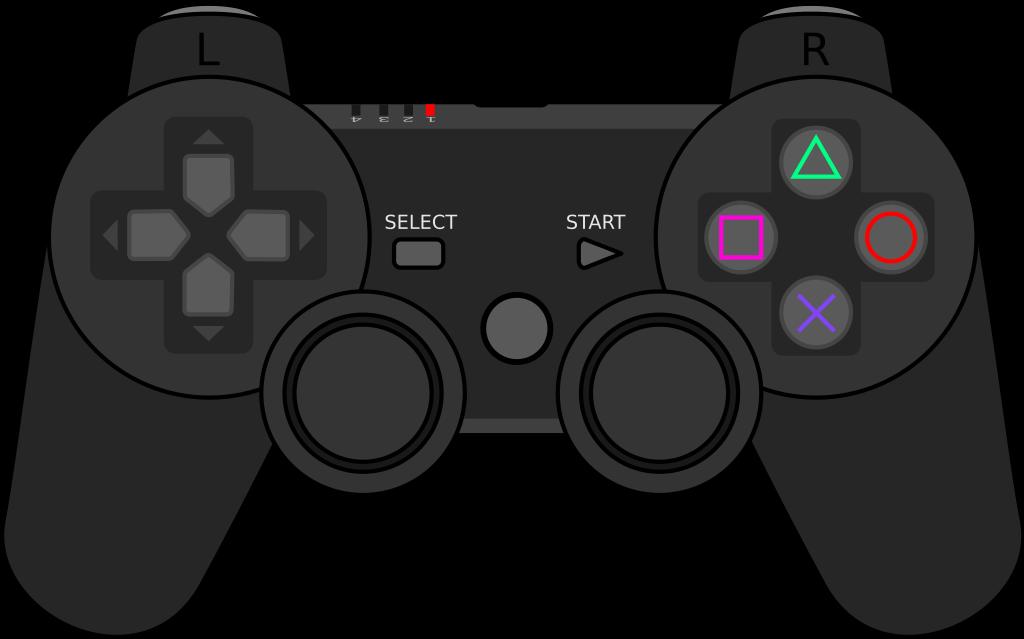 controller clipart outline