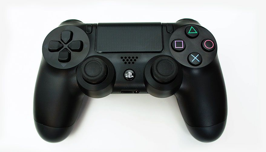 The review polygon . Controller clipart playstation 4 controller