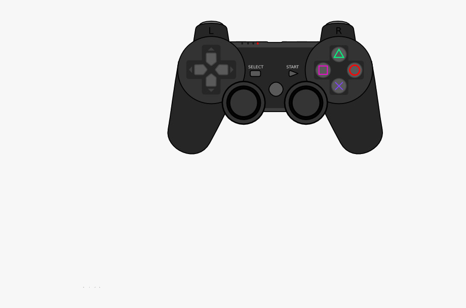 Game . Gaming clipart playstation 4 controller