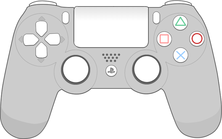 Gaming clipart playstation 4 controller.  collection of ps