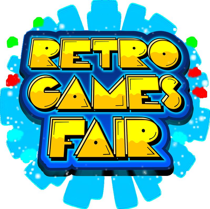 Retro games fair . Market clipart fete stall