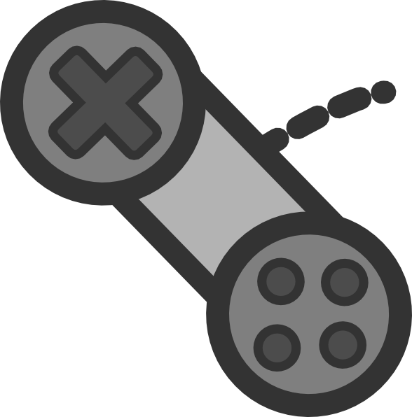 Controller vector . Game clipart game pad