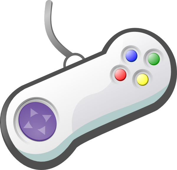 Electronics clipart controller. Gamepad clip art at