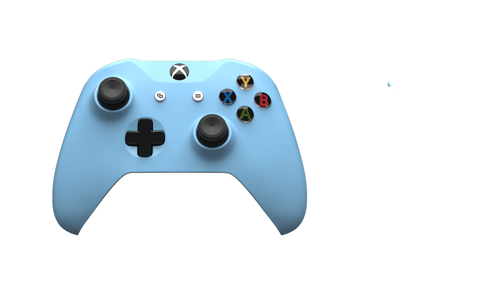 Gaming clipart xbox one s. Controller custom controllers colorware