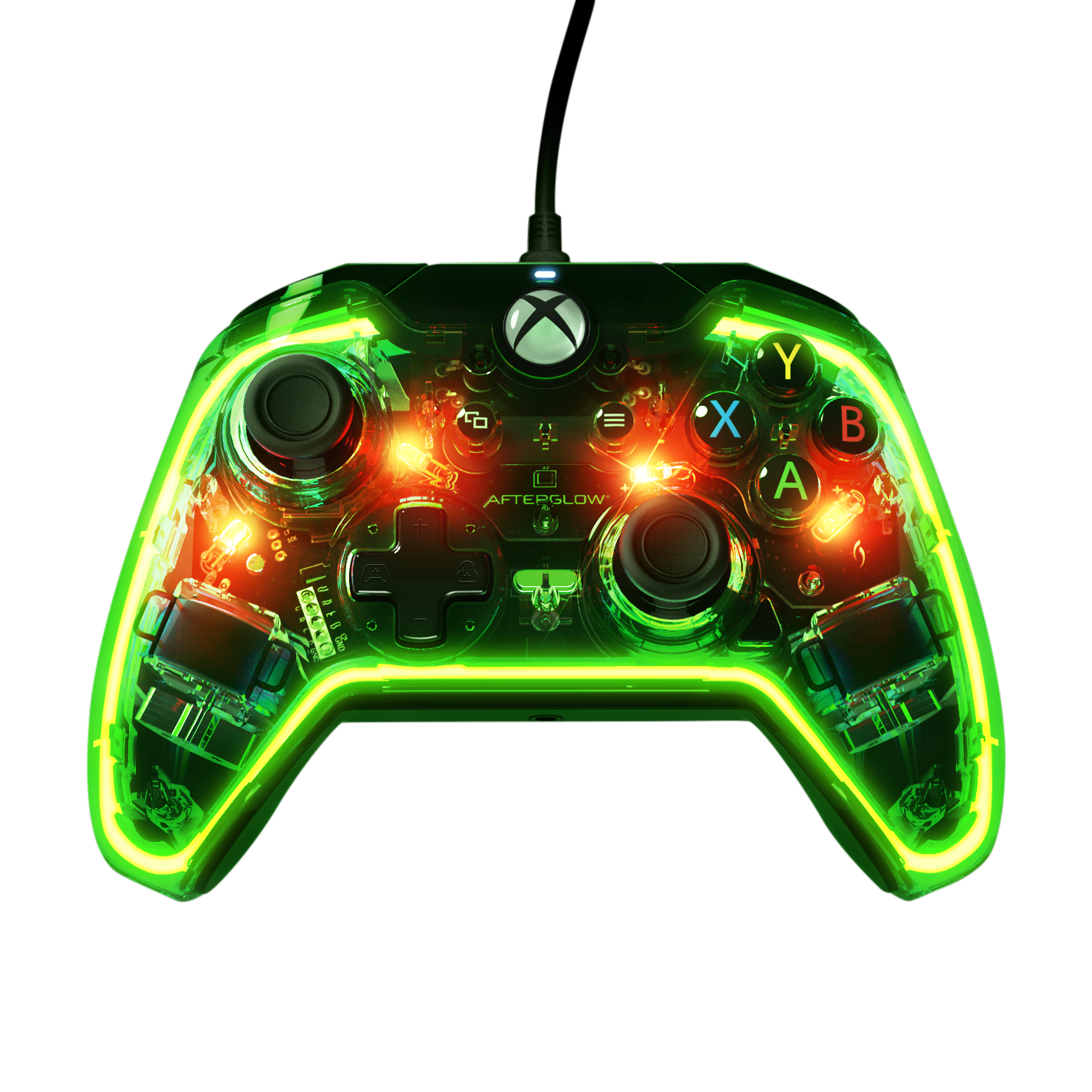 Afterglow prismatic wired for. Controller clipart xbox one
