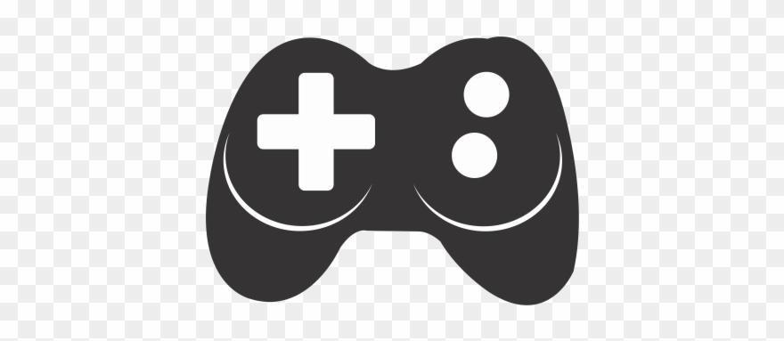 Video game symbol controller. Gaming clipart xbox logo