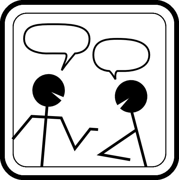 Free cliparts download clip. Conversation clipart