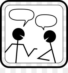 Conversation clipart. Dialogue speech balloon clip
