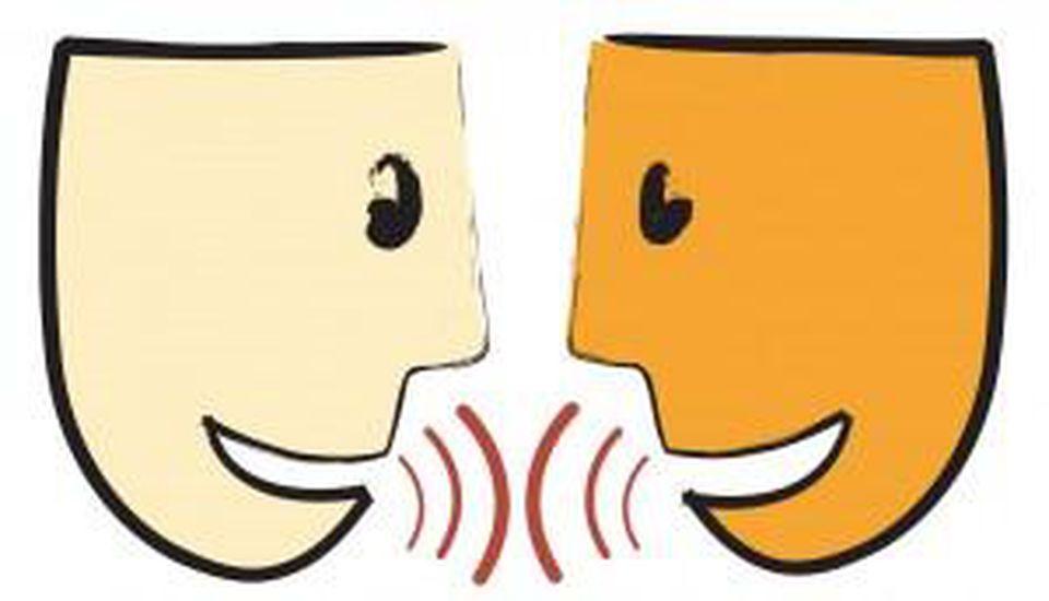 Conversation clipart approach. Overcoming fake talk put