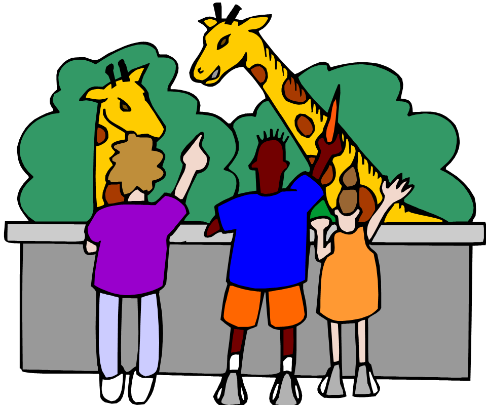 Picture clipart zoo. Birthday party program themes
