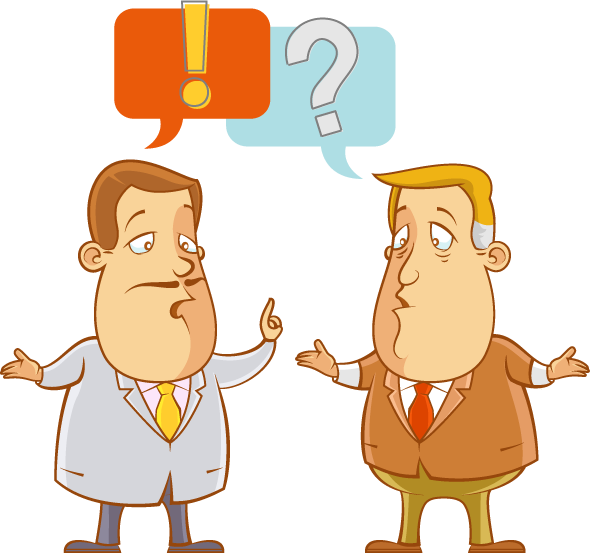 The persuasive argument strategies. Conversation clipart argumentative