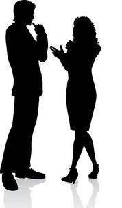 Conversation clipart business conversation. Best clipartion com