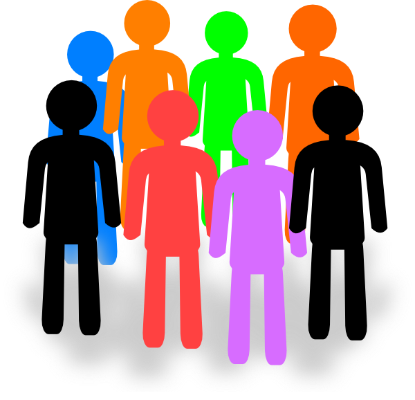 collection of small. Teamwork clipart person