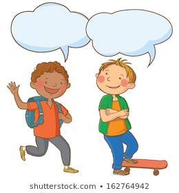 Conversation clipart child conversation. Children portal