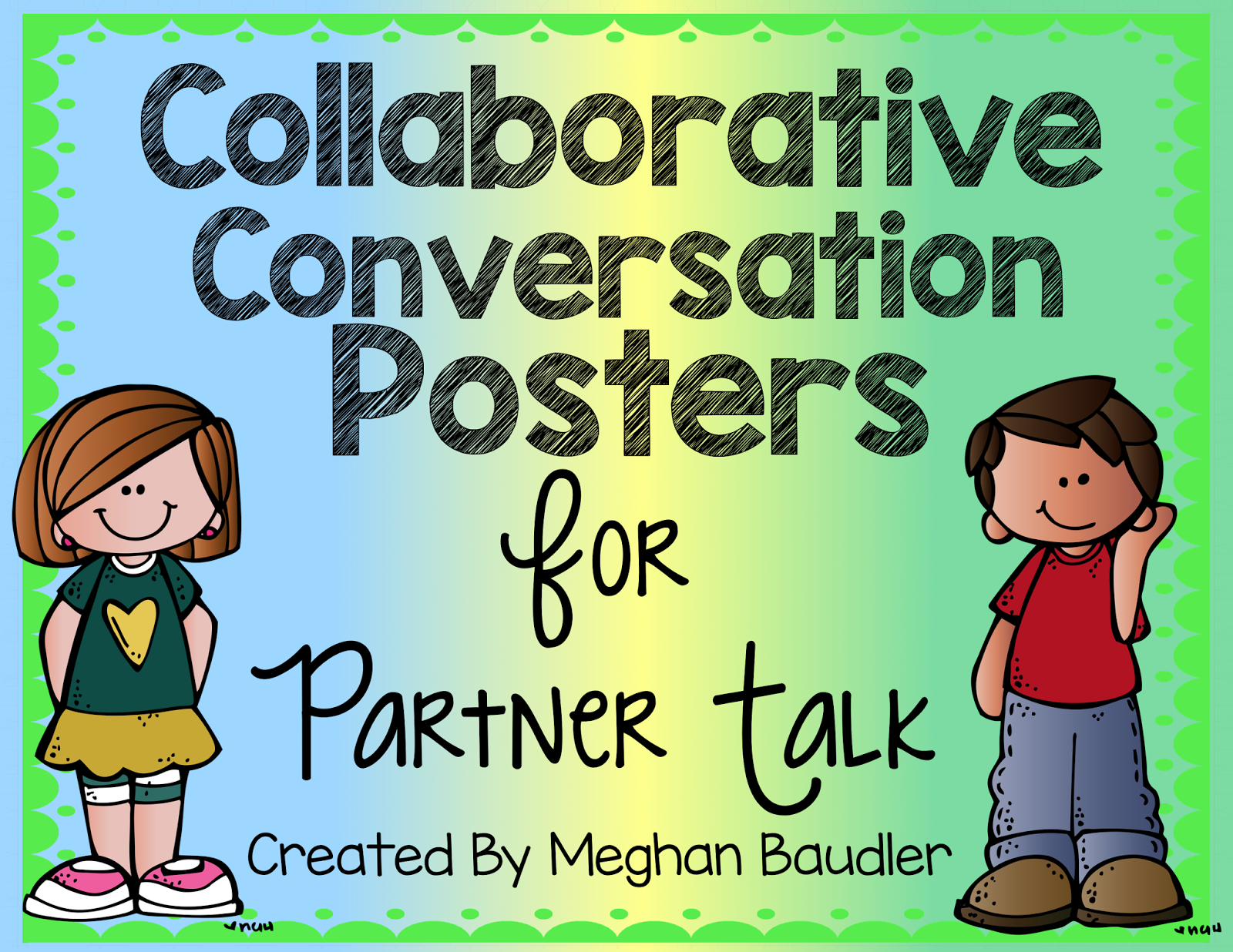 The creative colorful classroom. Conversation clipart collaborative conversation
