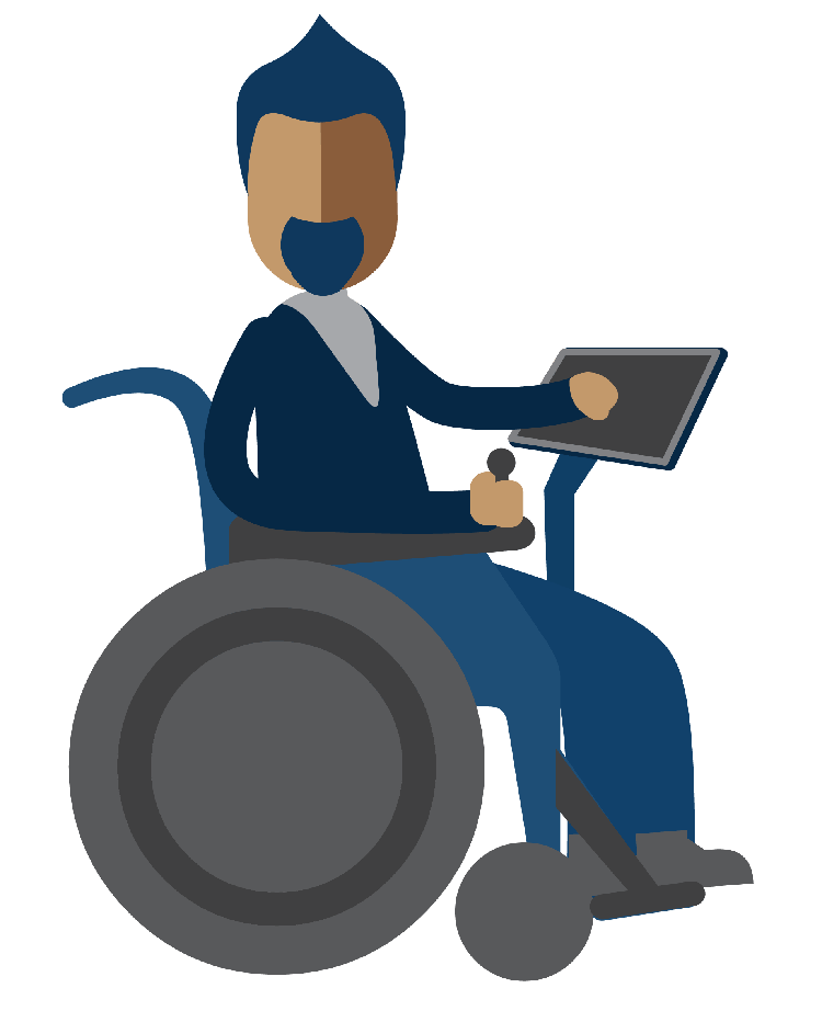 Person clipart technology. Smartbox assistive for everyone