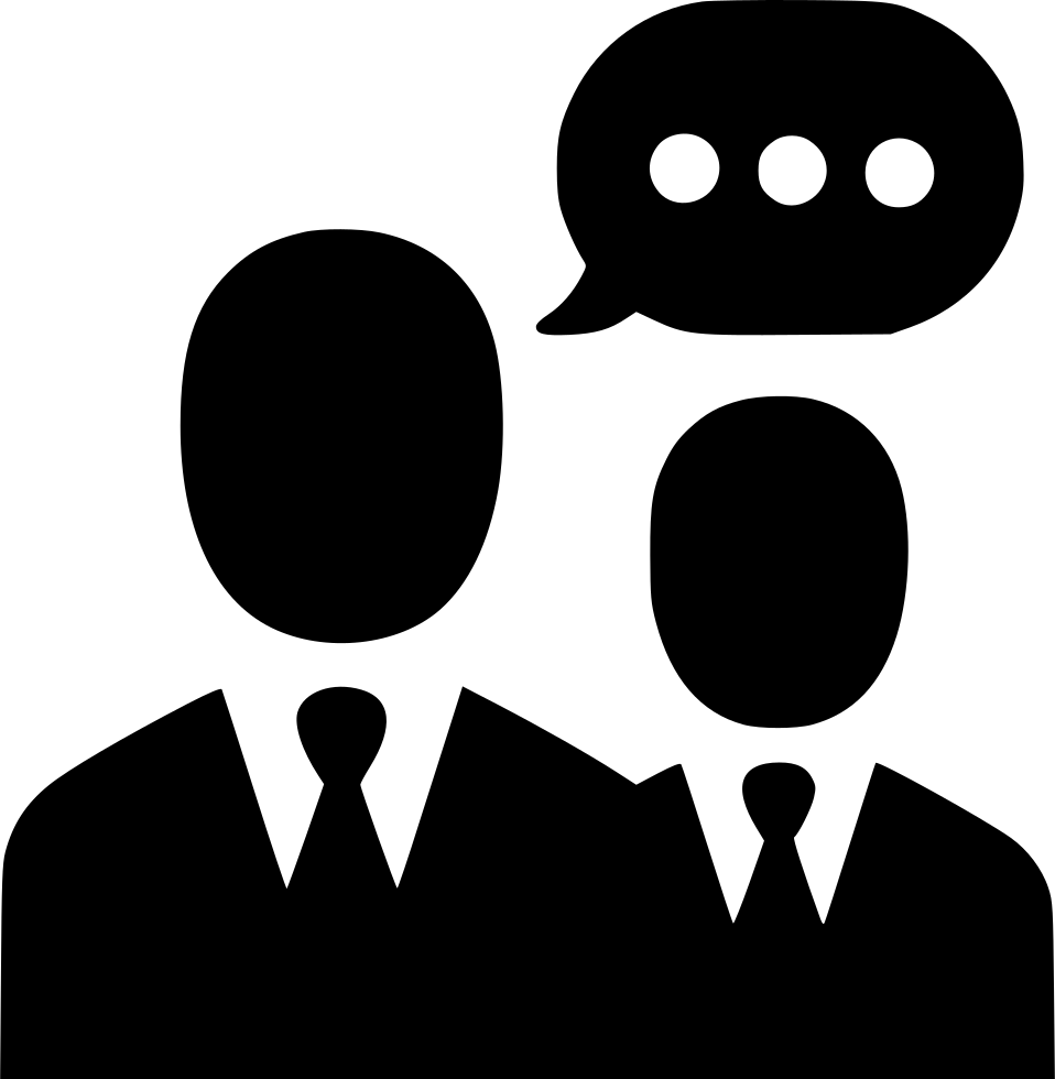 Conversation clipart communication style. Negotiations men group team