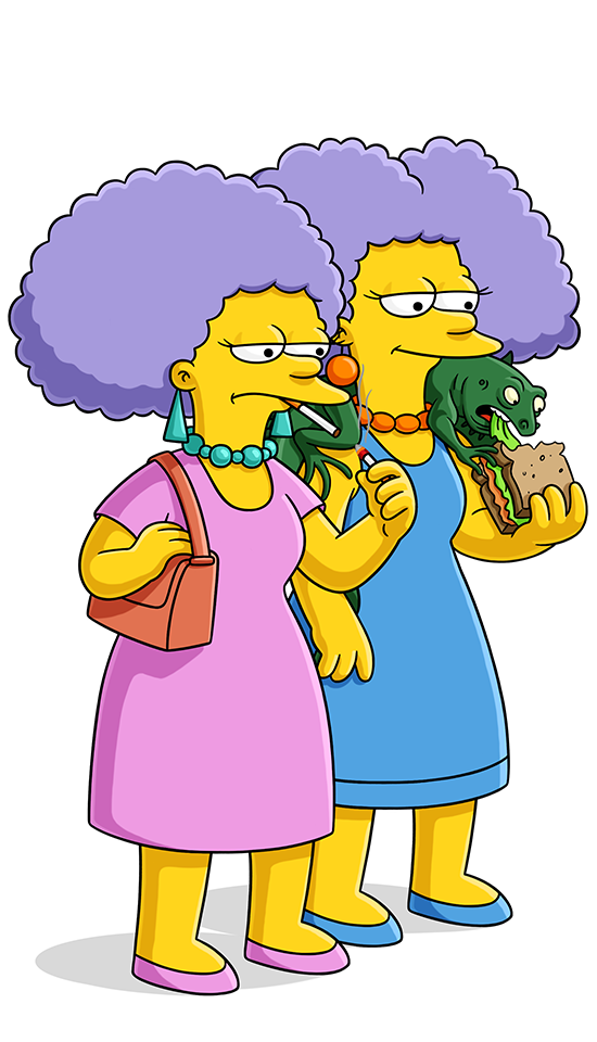 Selma terwilliger hutz mcclure. Couch clipart simpsons