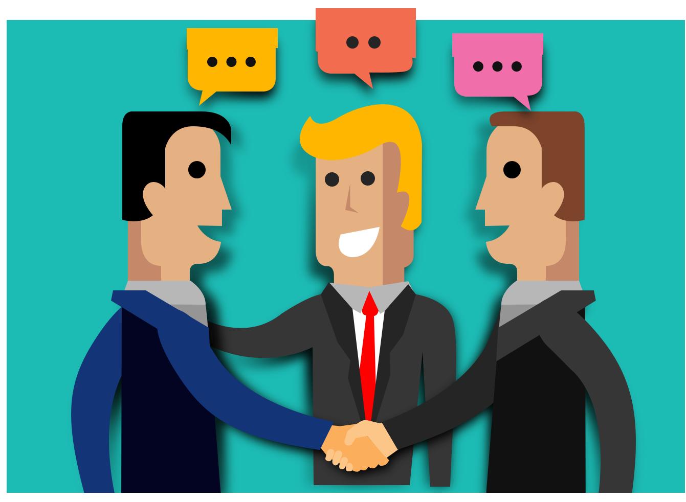 Conversation clipart design. Social media graphic clip