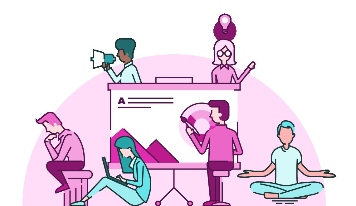 Presentation agency brightcarbon . Conversation clipart design