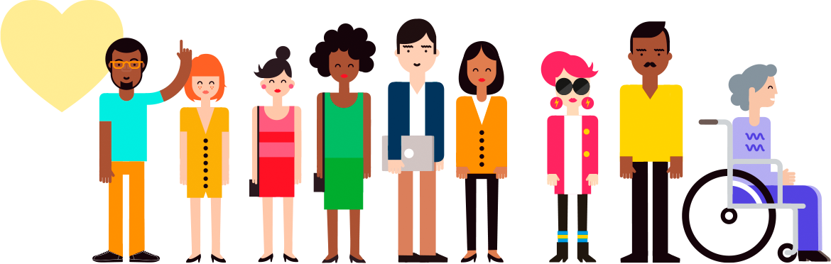 collection of workforce. Employee clipart diverse
