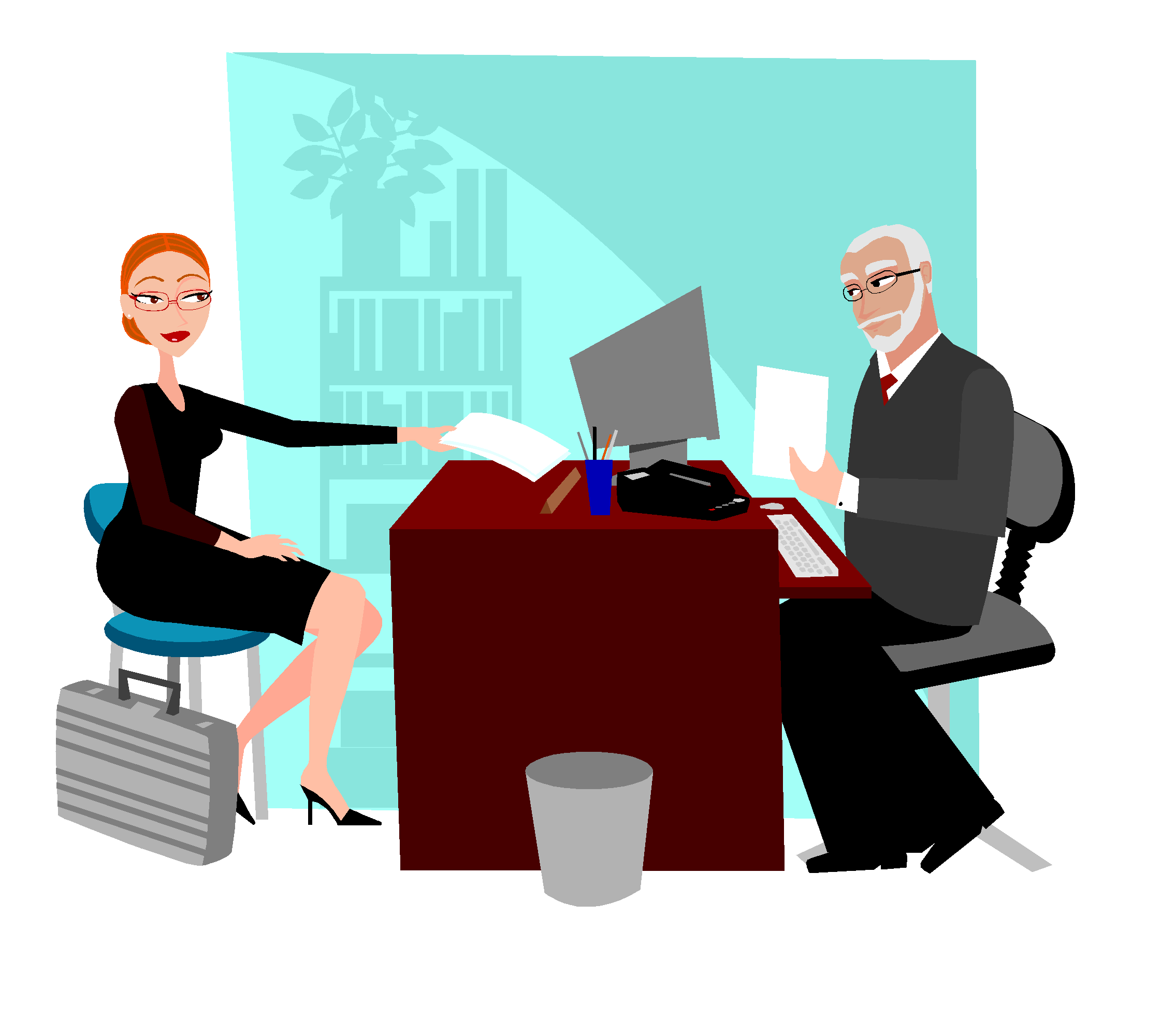 Conversation clipart employer. How to conduct an