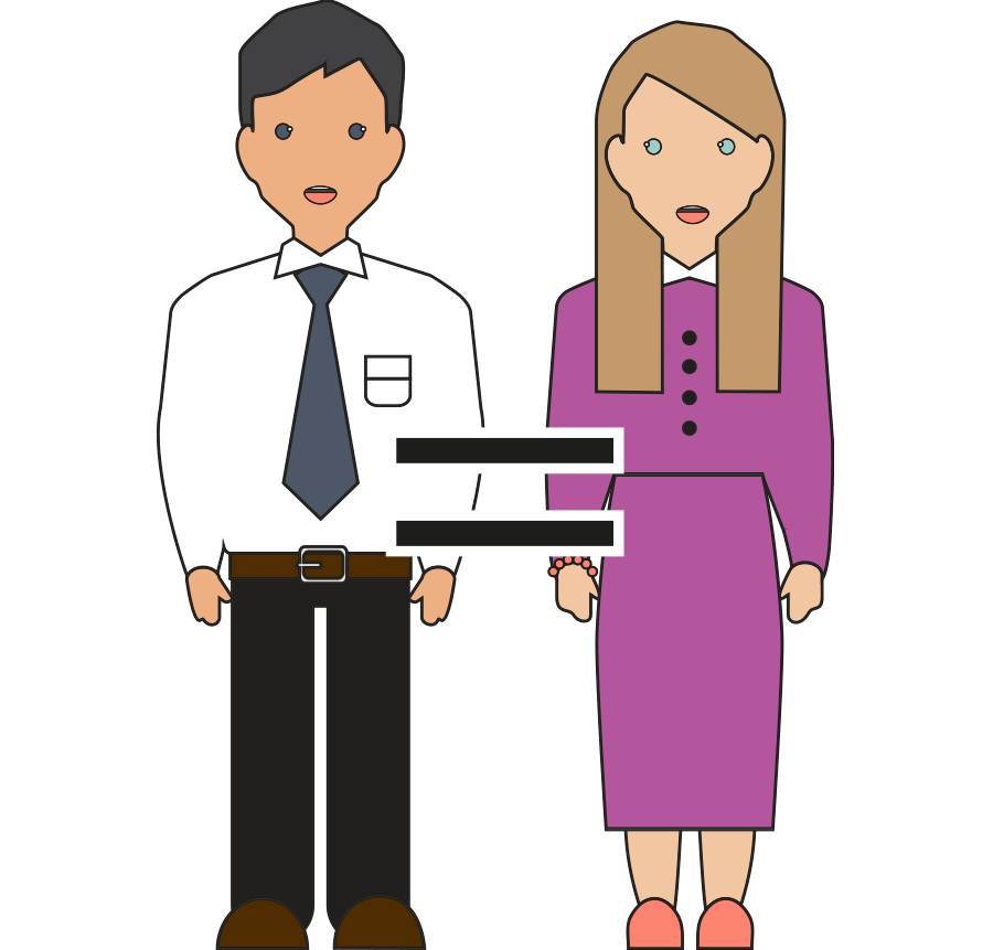 Conversation clipart employer.  years of growth