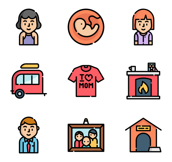 icon packs for. Conversation clipart family conversation